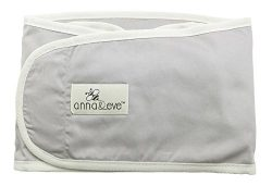 Anna & Eve Swaddle Strap Arms Only Baby Swaddle, Grey, Large