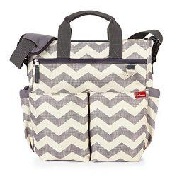 Premium Diaper Bag – Spill Proof Fabric W/ Changing Pad – Designer Cotton Canvas &#8 ...