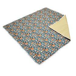 51″ Large Splat Mat Floor Cover for Under High Chair Waterproof Anti-slip Floor Splash Spi ...