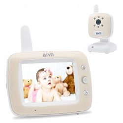 """AIVN Baby Monitor with Camera and Audio, 3.5"""" LCD Display, Infrared Night Vision, Two Way  ..."""