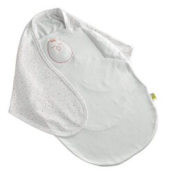 Nested Bean Zen Swaddle Classic – Gently Weighted Design for Extra Comfort (100% cotton)(0-6 mon ...