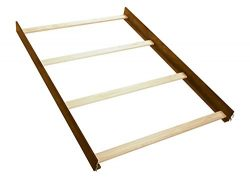 Full Size Conversion Kit Bed Rails for Oxford Baby Piermont Crib – Rustic Farmhouse Brown