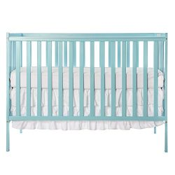 Dream On Me Synergy 5-in-1 Convertible, Crib, Aqua Sky