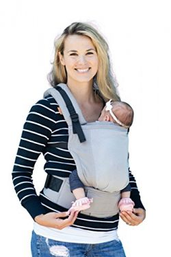 Baby Tula Free-to-Grow Coast Mesh Baby Carrier, Adjustable Newborn to Toddler Carrier, Ergonomic ...