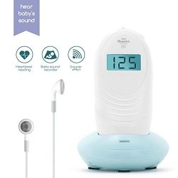 Baby Monitor Sound Amplifier Recorder – Hear Your Baby's Kicks & Noise in Womb – ...