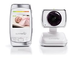 Summer Infant Baby Secure 2.5″ Pan/Scan/Zoom Video Baby Monitor