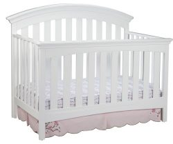 Delta Children Bentley 4 in 1 Crib, White