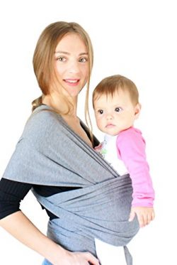 Cuddler Baby Wrap Carrier Newborn to Toddler up to 35 lbs. Available in Plus Size and in Multipl ...