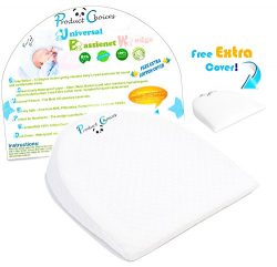 Universal Bassinet Wedge Baby Pillow | Side Pregnancy Pillow | Newborns with Acid Reflux or Nasa ...