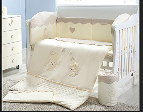 100% Organic Cotton 3 piece Baby Nursery Crib Bedding Set for boys and girls by Baby Owl