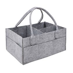 Handy Baby Diaper Nursery Portable Travel Organizer Tote Bag