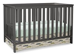 Storkcraft Rosland 3-in-1 Convertible Crib – Gray