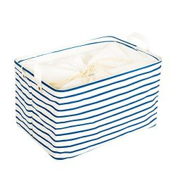 "Zonyon Nursery Hamper, 15"" Collapsible Fabric Baby Storage Bin Organizer,Container Box,Bas ..."