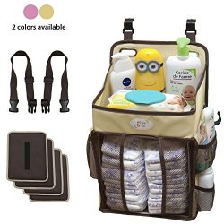 Diaper Stacker and Changing Table Organizer – Hard Plastic Body Prevent from Sagging &#821 ...