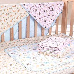 Elf Star Cotton Bamboo Fiber Breathable Waterproof Underpads Mattress Pad Sheet Protector, Eleph ...