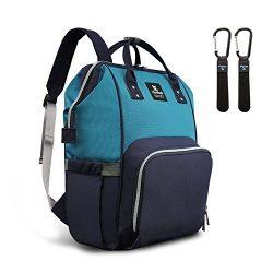 Abear Diaper Bag Backpack Waterproof Large Capacity Insulation Travel Back Pack Nappy Bags Organ ...