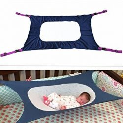 Colorfulworld Multi Style Safety Baby Crib Hammock Hanging Detachable Portable Newborn Baby Slee ...