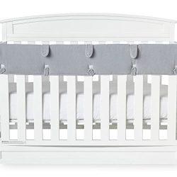 Babies R Us Soft Cloth Front Crib Rail Cover
