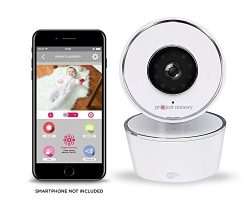 Project Nursery HD WiFi Video Baby Monitor System with Sound, Motion & Temperature Alerts &a ...