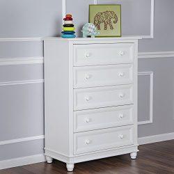 Evolur Hampton 5 Drawer Dresser