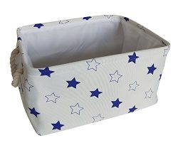 CLOCOR Durable Fabric Storage Bins/Collapsible Organization Baskets for Nursery,Closet,Toy and M ...