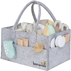 Diaper Caddy – Baby Nursery Organizer – Wipes & Diapers Storage for Baby Changin ...