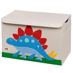 Wildkin Olive Kids Dinosaur Land Toy Chest, One Size