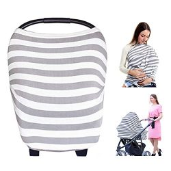 Baby Nursing Breastfeeding Cover, Carseat Canopy, Flexible Car seat & Stroller, Shopping Car ...