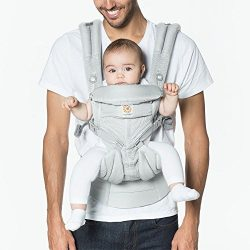 Ergobaby OMNI 360 Cool Air Mesh Ergonomic Baby Carrier All Carry Positions, Newborn to Toddler,  ...