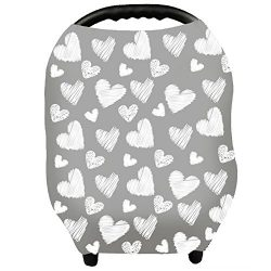 Baby Car Seat Covers – Privacy Nursing Cover Breastfeeding Scarf Car Seat Canopy, Shopping ...