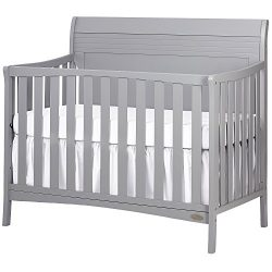 Dream On Me Bailey 5-in-1 Convertible Crib, Dove Grey