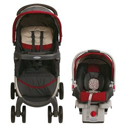 Graco FastAction Fold Click Connect Travel System/Click Connect 30, Finley (Discontinued by Manu ...
