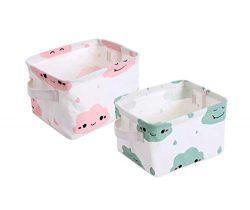 Storage Bins Toy Basket Collapsible Box Chest Organizer Nursery for Closet, Kid's Toys, La ...