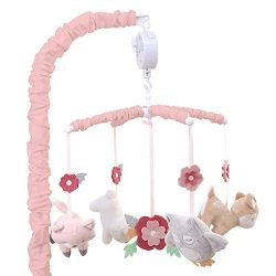 Woodland Whimsy Forest Animal Musical Mobile by The Peanut Shell