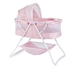 Big Oshi Emma Newborn Baby Bassinet – Portable Co Sleeper Bassinet for Boys  or Girls ̵ 3135122f5