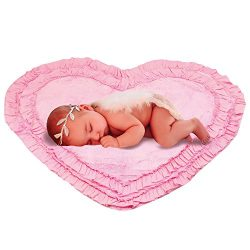 Baby Essentials Wrap Favorite Blankets Newborn Photo Shoot Baby Photo Props Furry Quilt Photogra ...