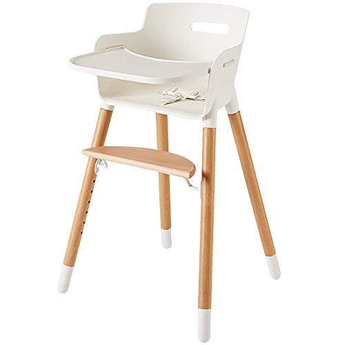 wooden high chair for babies and toddlers with harness removable tray and adjustable legs. Black Bedroom Furniture Sets. Home Design Ideas