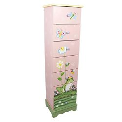 Fantasy Fields – Magic Garden Thematic 7 Drawer Wooden Cabinet for Kids Storage | Imaginat ...
