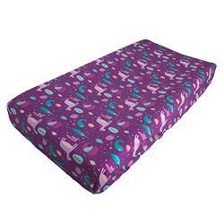 ALVABABY Changing Pad Cover,100% Organic Cotton,Large 32″ X 16″,Soft and Light,Bab ...