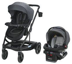 Graco UNO2DUO 2065075 Travel System Stroller, Reece