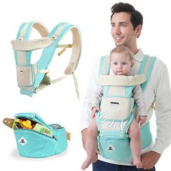 Baby Carrier Sling All Carry with Hip Seat 360 All Carry Positions Award-Winning Ergonomic Baby  ...