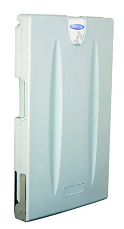 SafetyCraft Vertical Wall Mounted Baby Changing Station, Light Gray