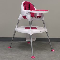 ZOE High Chair (5-in-1 High Chair, Plum)