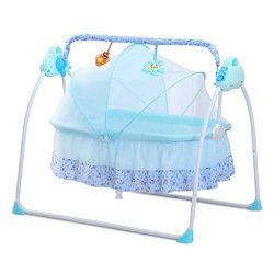 CBBAY Electric Cradle for Baby ,Automatic Baby Basket Electric Rocking Multi-Function Baby Swing ...