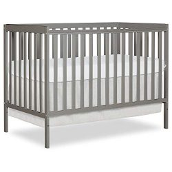 Dream On Me Synergy5 in 1 Convertible Crib, Cool Grey