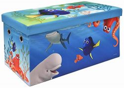 Finding Dory Storage Bench and Toy Chest, Officially Licensed, Perfect for any Playroom or Bedroom