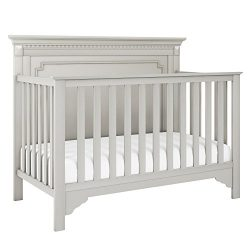 Baby Relax Teri 5-in-1 Convertible Crib, Soft Gray