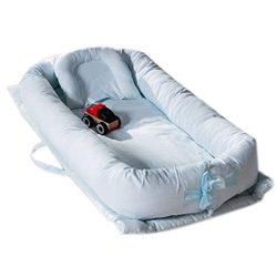 Baby Bassinet for Bed, V-mix Baby Co-Sleeping Cribs & Cradles Lounger Cushion with 100% Un-D ...