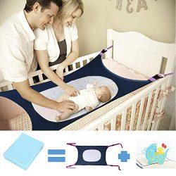 Newborn Baby Hammock for Crib Kids Hammock Baby Crib Hammock for Crib Bassinet Hammock Bed Infan ...