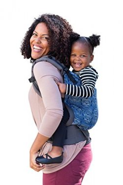 Baby Tula Multi-Position, Ergonomic Toddler Carrier, Front and Back Carry for 25 – 60 pounds – R ...